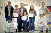 400 деца участваха в Коледното математическо състезание, 40 бяха наградени