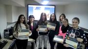 """Ученици от ППМГ """"Акад.Никола Обрешков"""" - Разград  се обучават по програмите на Microsoft"""